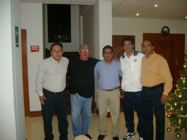 con los maestros Franco Navarro y Miflin
